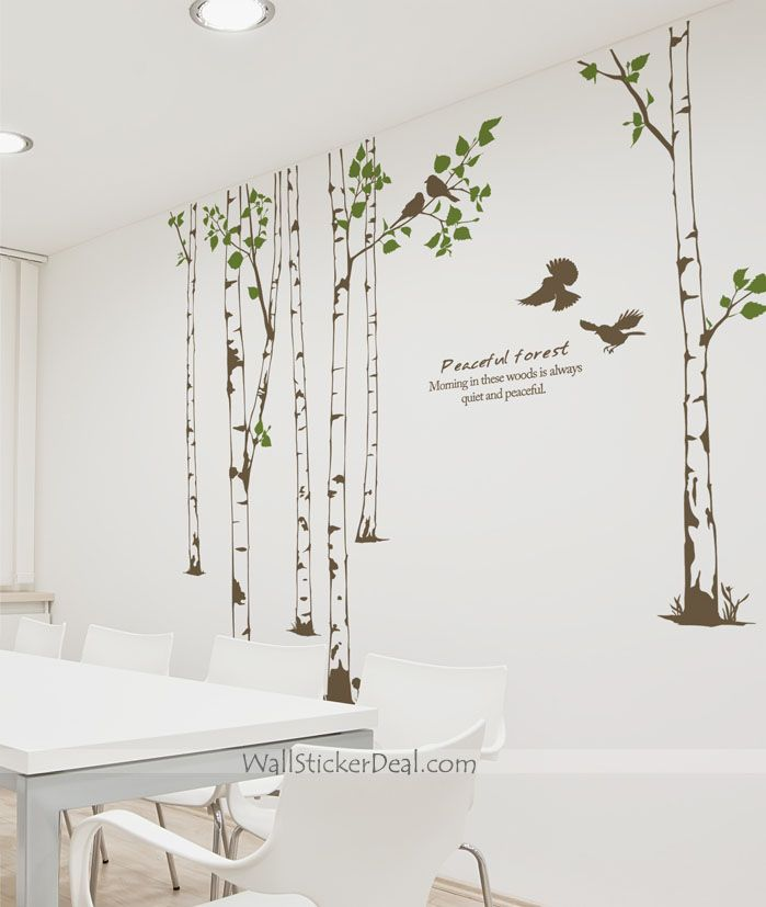 Wall Decals For Living Room 926 best tree wall sticker images on pinterest | wall stickers