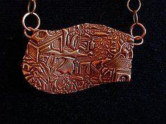 Precious Metal Clay Bronze Jewelry - Asian Market by Cydney Morel-Corton