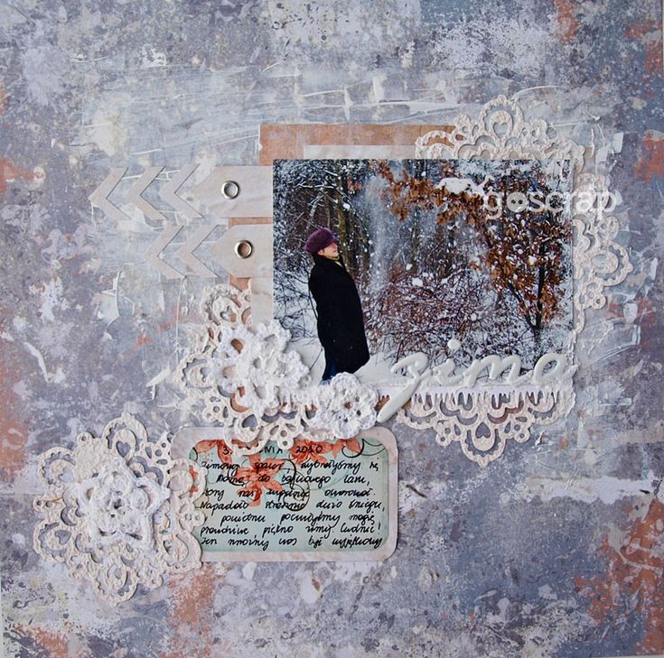 by Magda/Papierowy Pokój #scrapbooking #goscrap