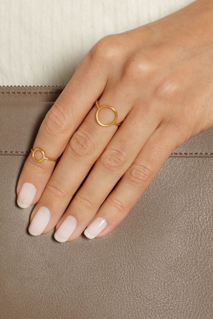 Maria Black | Monocle gold-plated ring | NET-A-PORTER.COM