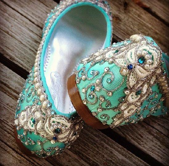 Pantofola nuziale balletto Ballerine scarpe di Cenerentola