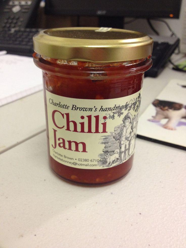 Charlotte Brown's amazing chilli jam