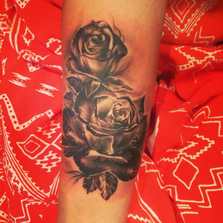 Roses for my grandmother and I