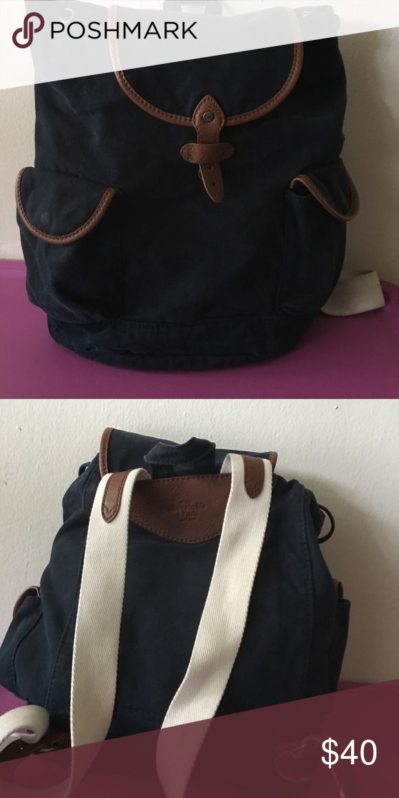 Abercrombie and Fitch backpack Blue and white backpack Abercrombie & Fitch Bags Backpacks
