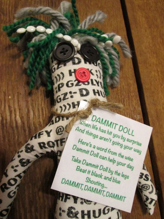17 Best Dammit Dolls Images On Pinterest Dammit Doll
