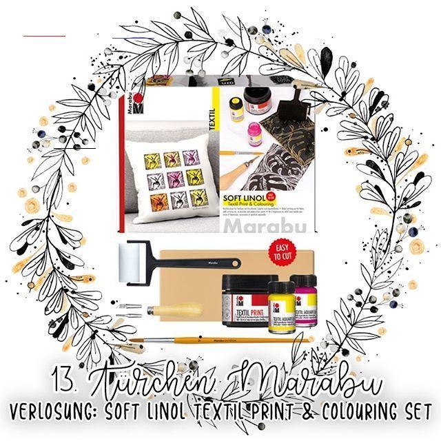 Laura On Instagram Beendet Werbung Adventskalender Gewinnspiel Turchen 13 Gewinne Ein Textil Soft Linol Practical Christmas Gift Party Drinks Color Set