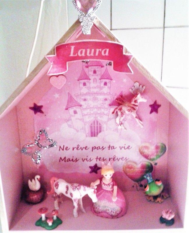 Cadre en relief avec figurine Playmobil sur le thème ...