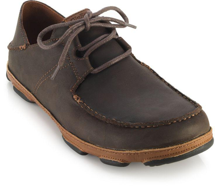 Olukai Ohana Lace Up Nubuck Shoes Men S Fancy