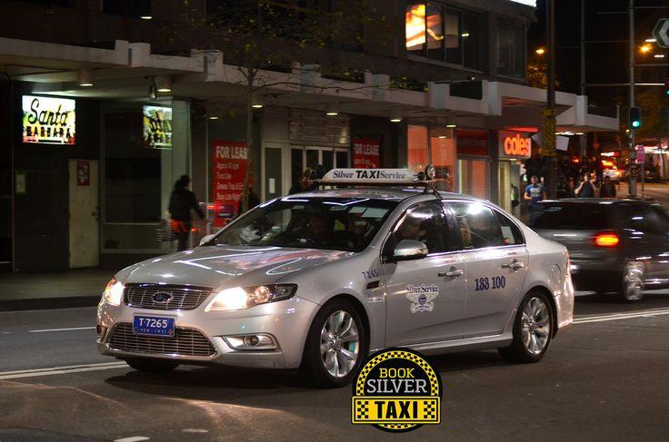 Book Silver Taxi On Taxi Silver Melbourne