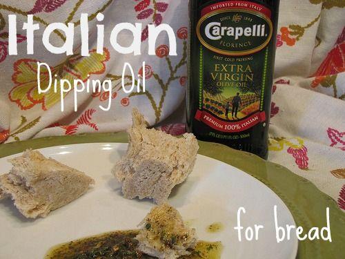 Italian Dipping Oil for Bread