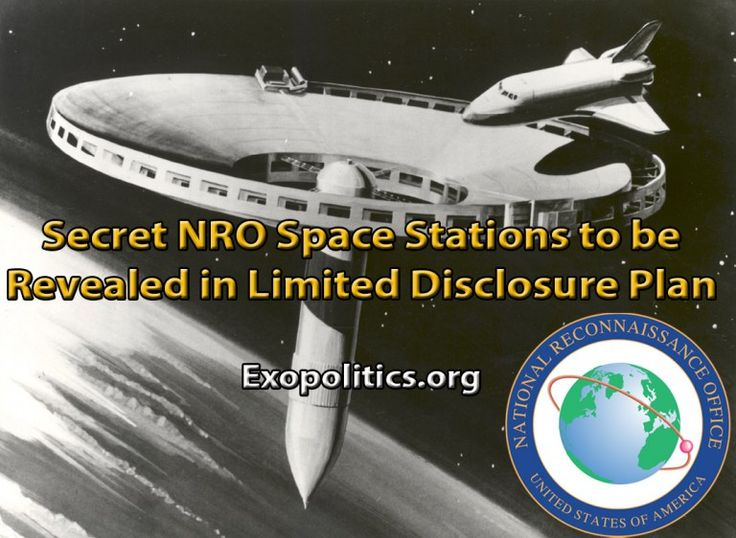 http://cognitivejourneys.com/index.php?threads/secret-nro-space-stations-to-be-revealed-in-limited-disclosure.129/  Secret NRO space stations to be revealed in limited disclosure - aliens , ufo - read more