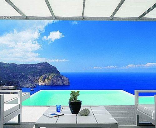 Cliffs of Ibiza, Spain