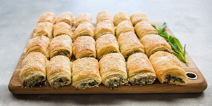 Spinach, Ricotta and Feta Rolls - Lifestyle FOOD
