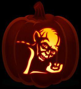 lord of the rings stencil for pumpkin - Google-søk