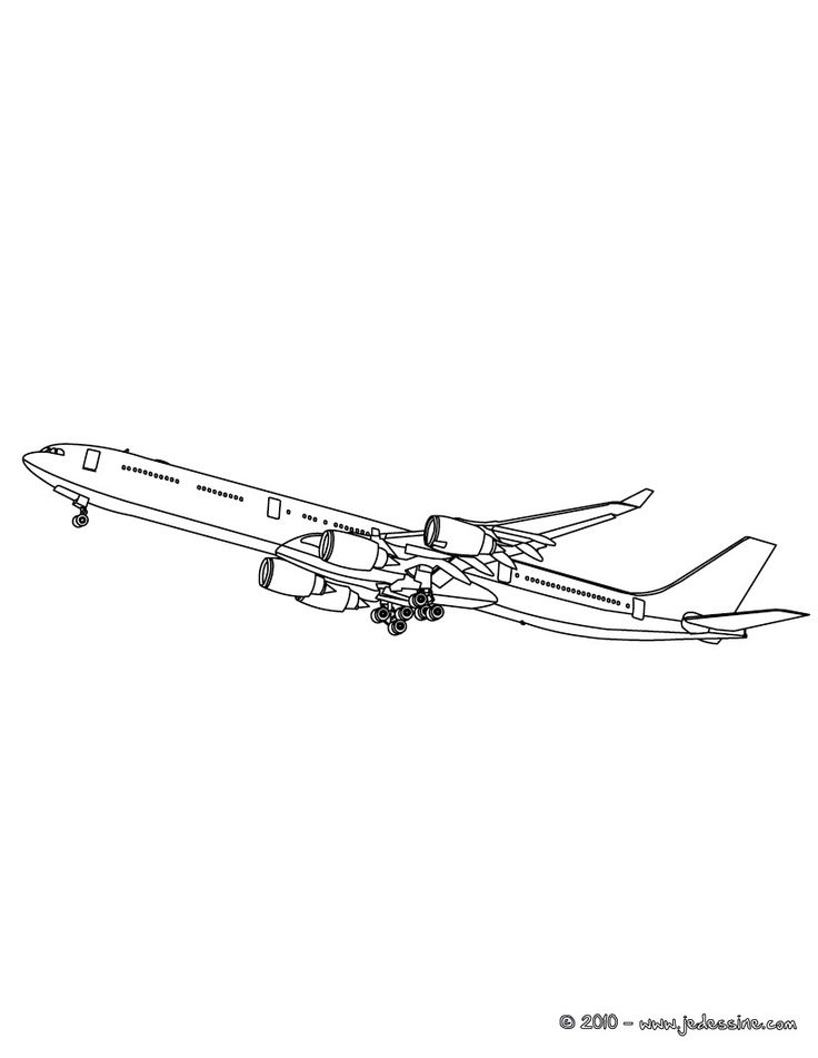 southwest airplane coloring pages - photo#9