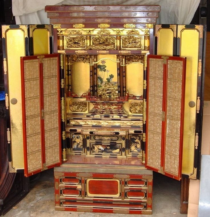 76 Best Amazing Altars Images On Pinterest: Amazing Japanese Buddhist Altar.