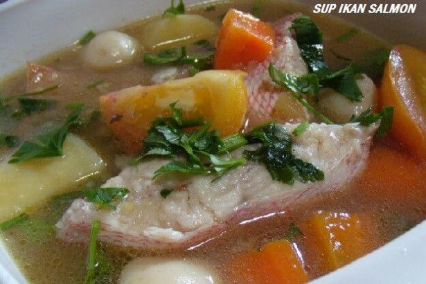 Resep Sup Ikan Salmon Yang Nikmat Sup Ikan Resep Sup Resep Masakan