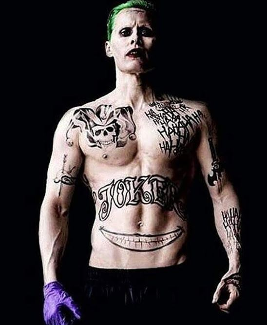 """Jared Leto as The Joker from """"Suicide Squad,"""" (2016)"""