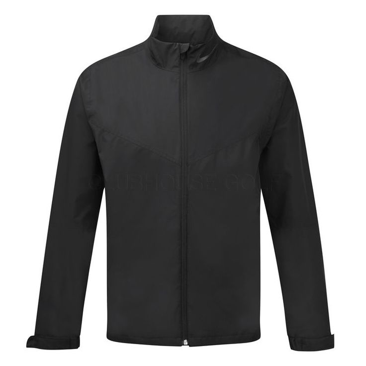 Nike Golf Mens Storm-Fit Packable Rain Waterproof Jacket SZ Large (619903-010 #Nike #RainGolfJacket