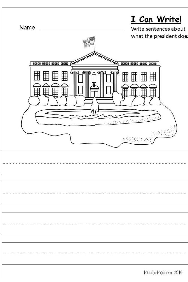 Free President S Day Writing Printable Kindermomma Com Kindergarten Writing Prompts Kindergarten Writing Opinion Writing Kindergarten [ 1102 x 735 Pixel ]