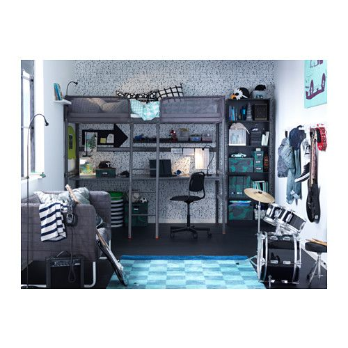 lit mezzanine ado ikea stunning ikea chambre ado lit. Black Bedroom Furniture Sets. Home Design Ideas