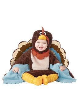 You'll just want to eat your child up with this adorable #Turkey costume for toddlers.