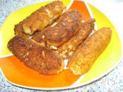 Яичные колбаски : Запеканки и омлеты