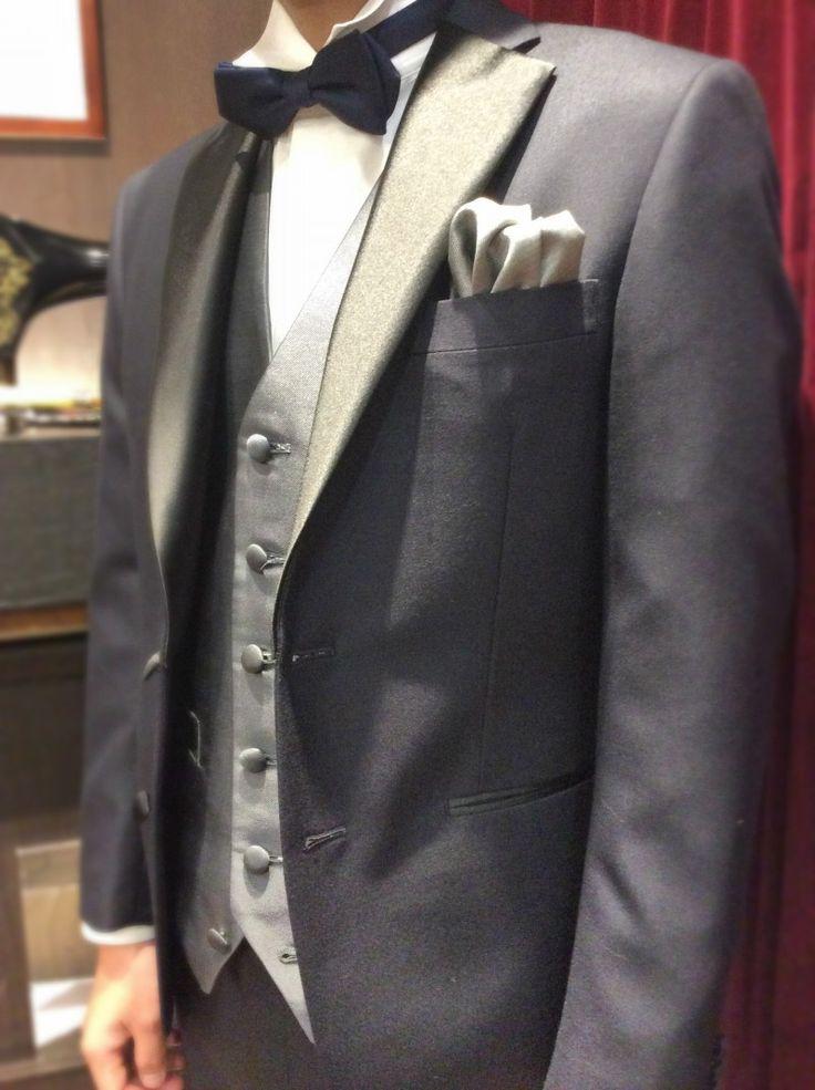 【拝絹オーダータキシード完成】|結婚式の新郎タキシード/新郎衣装はメンズブライダルへ