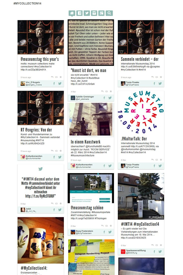 """Webseite des #IMT14 mit Blick in den Bereich """"Digital"""""""