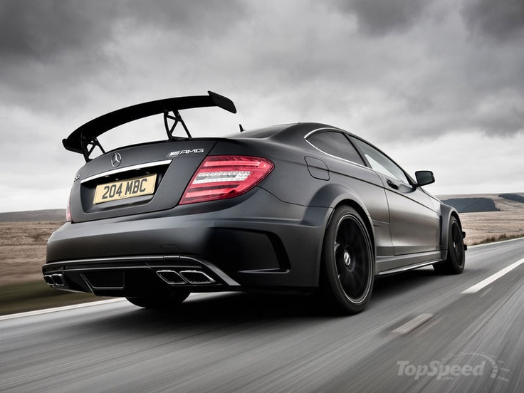 murdered out c63 amg coupe black series delish c a r s. Black Bedroom Furniture Sets. Home Design Ideas
