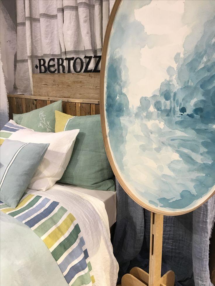 #maisonetobjets #design #trend #salon #lamanufacturedudesign #paint #blue #bed #bedroom