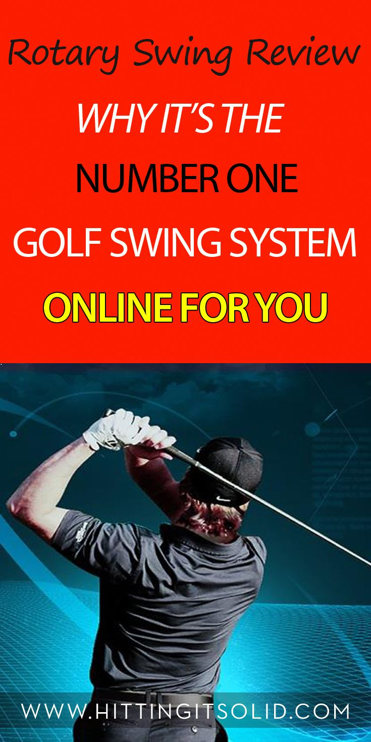 Learn this how to make the most efficient golf swing on the planet with this Rotary Swing review. Discover how you can play better golf with effortless power with body friendly golf techniques.