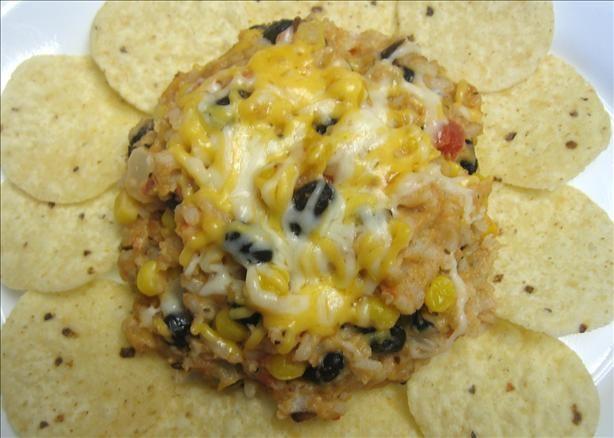 mexican vegitarian casserole