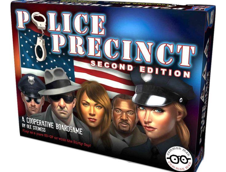 Police Precinct Board Game Review Co-op Board Games