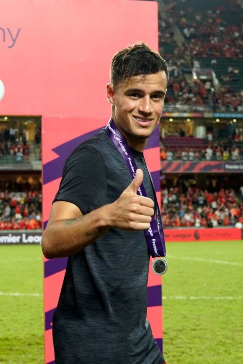 love the beautiful game  Philippe Coutinho gives a thumbs up after winning the Asia Cup, scoring the winning goal and providing an assist.   Liverpool, LFC, Liverpool FC, football, calcio, futbol, YNWA.
