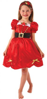 Noel Kız Kostümü, Lüks 3-5 Yaş Parti Kostümleri - Kız Çocuk Parti Kostümleri Kostümlü Parti, Kıyafet Balosu, Yılbaşı / Yeniyıl Temalı Partiler için ideal kostüm.