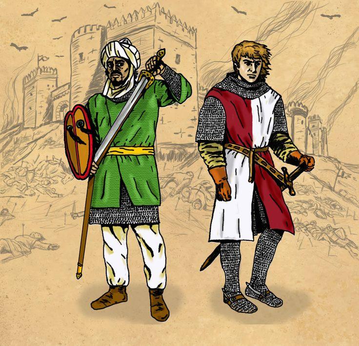 """Ilustración para la portada de la novela """"Yazirat Qadiz"""""""