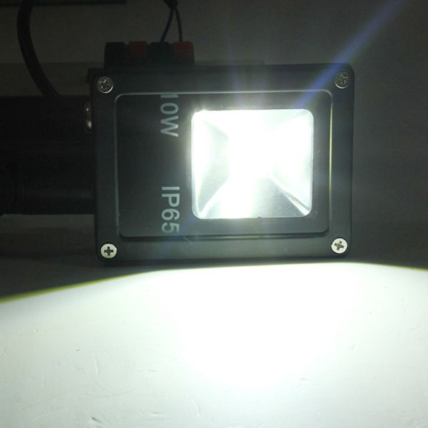 Ideal V W PIR Motion Sensor LED Flood Light IP Warm Cold White Light