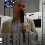 """Coby 5"""" Dual-Sim Smartphone und Quadcore Tablet - IFA 2012"""