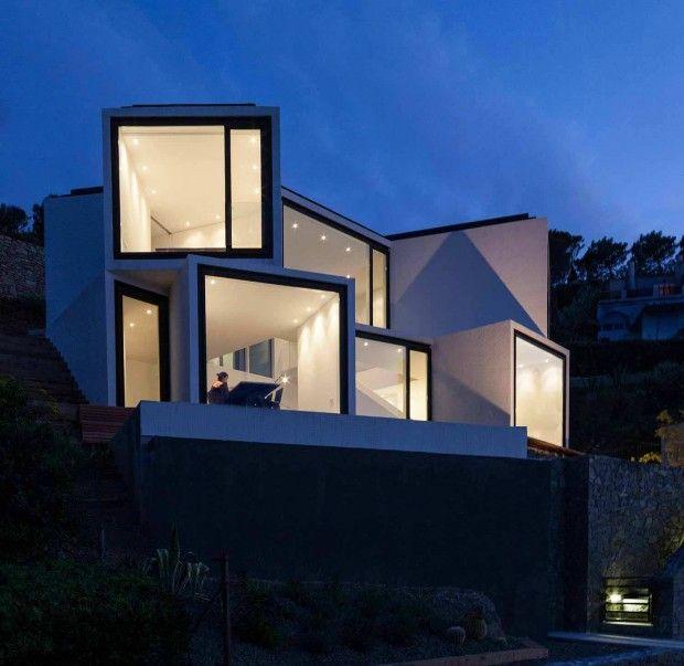 Maison tournesol par cadaval sol morales architecture maison architecture et architecteur - Maison modulaire espagnole ...
