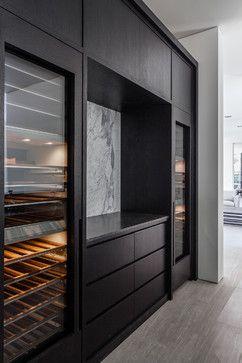 Sozo Studio/MaK Studio - Atherton project modern wine cellar