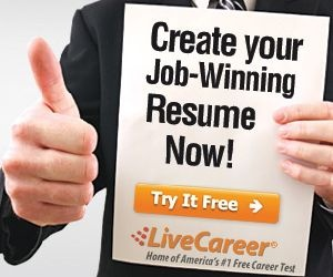 need to make a new resume try out this online website