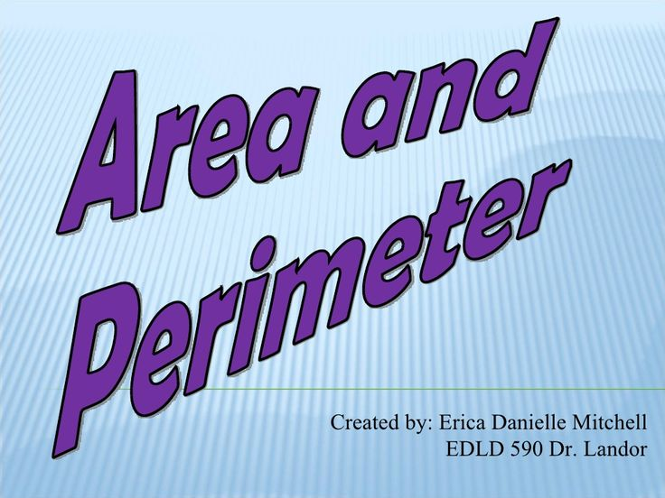 4th-grade-area-and-perimeter-introduction by emitchell1 via Slideshare