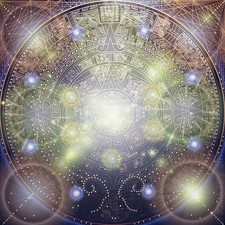 MAYA • 90x90cm • sacred geometry • artist: joma sipe (portugal)