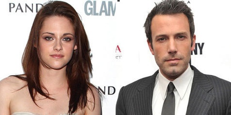 Now, Kristen Stewart making out with Ben Affleck