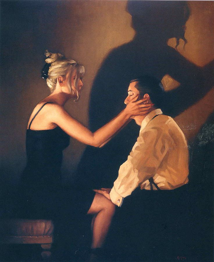At Last my Lovely  - Jack Vettriano
