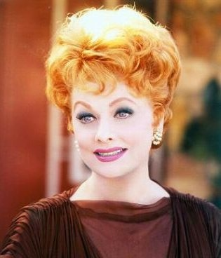 Lucille Ball. Wow, such a beautiful woman.