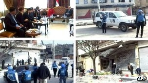 Syria crisis: Valerie Amos describes Homs 'devastation'
