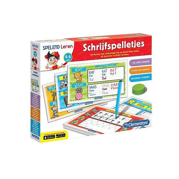 Clementoni 0619198 Leerspel: ik leer schrijven? Bestel nu bij wehkamp.nl