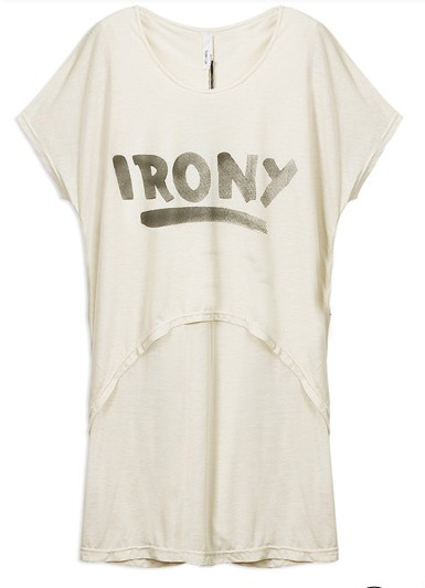 SheIn offers Light IRONY Layered Round Neck Short Sleeve Long T-shirt &  more to fit your fashionable needs.
